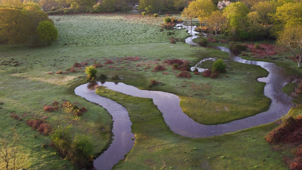 3 Aerial image of Fletchers Water after restoration